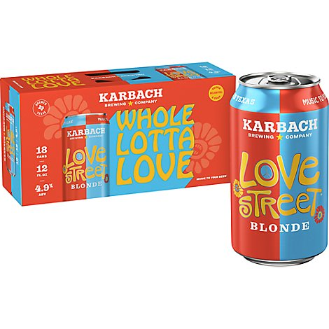 Karbach Love Street 18 Pk-12 Fz In Cans - 18-12 Fl. Oz.