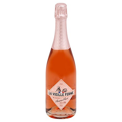 La Vieille Ferme Sparkling Rose Wine - 750 Ml