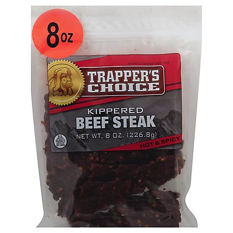 Hot & Spicy Tc Beef Steak - 8 Oz