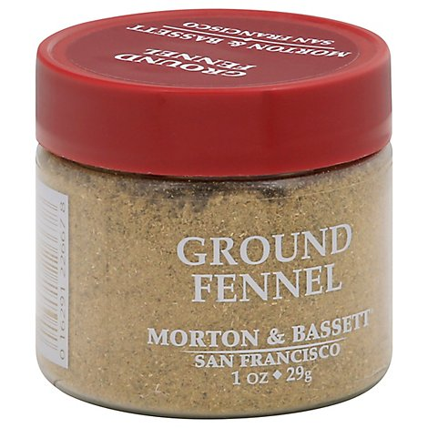 Morton & Seasoning Fennel Ground - 1 Oz