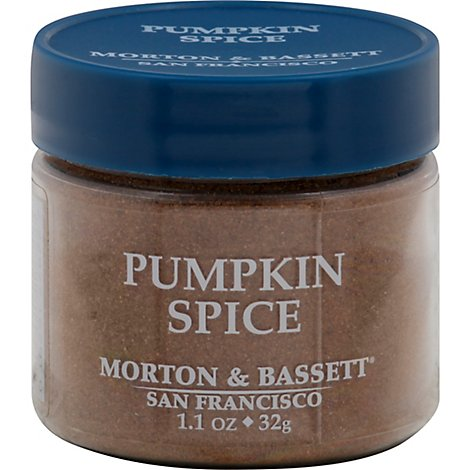 Morton & Seasoning Pumpkin Spice - 1.1 Oz