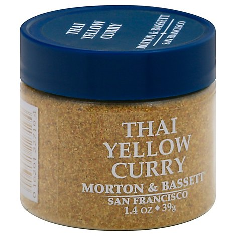 Morton & Seasoning Curry Thai Yel - 1.4 Oz