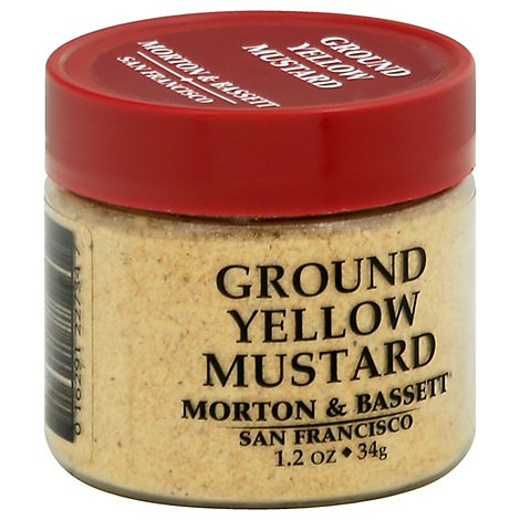Morton & Mustard Yellow Ground - 1.2 Oz