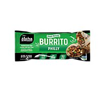 Alpha Foods Burrito Plant Based Philly Sandwich - 5 Oz