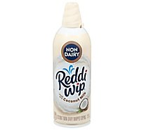 Reddi-wip Whipped Topping Non Dairy Coconut Milk - 6 Oz