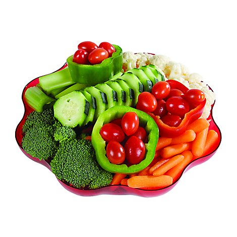 Vegetable Tray Small - 21 Oz