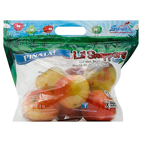 Stemilt Lil Snappers Apples Pinata - 3 Lb