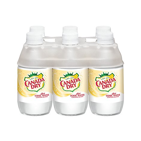 Canada Dry Diet Tonic Water - 6-10 Fl. Oz.