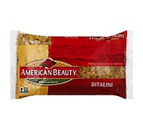 American Beauty Pasta Ditalini - 16 Oz