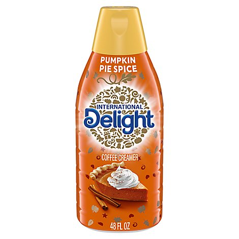 International Delight Coffee Creamer Pumpkin Pie Spice - 48 Fl. Oz.