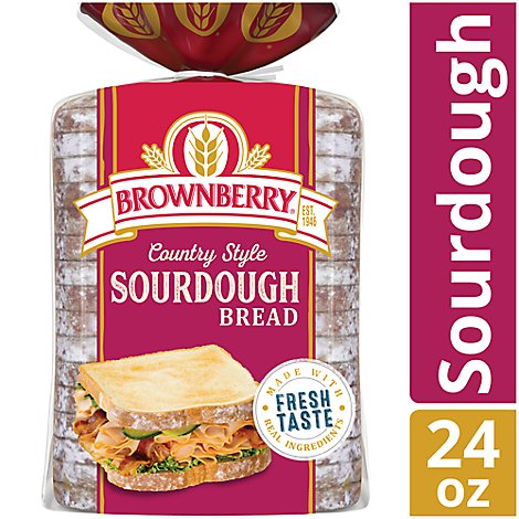 Brownberry Bread Country Sourdough - 24 Oz