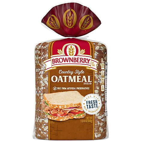 Brownberry Bread Country Oatmeal - 24 Oz