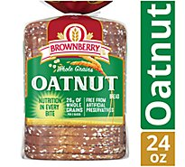 Brownberry Bread Whole Grains Oatnut - 24 Oz