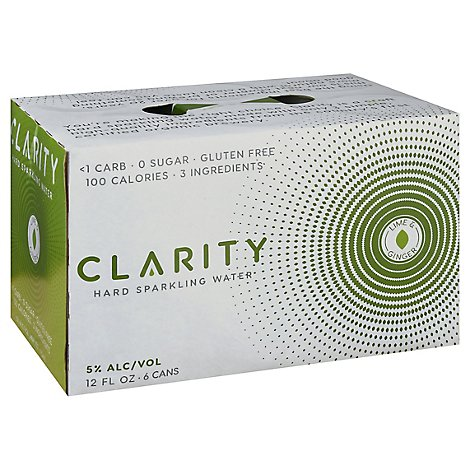 Craft Clarity Ginger Lime In Cans - 6-12 Fl. Oz.