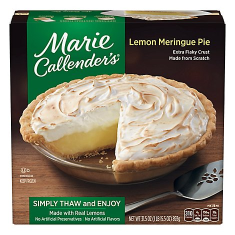 Marie Callenders Lemon Meringue Pie - 31.5 Oz