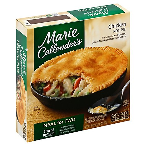 Marie Callenders Pot Pie For Two - 26 Oz