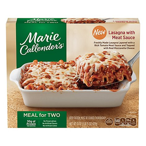 Marie Callenders Meal For Two Classic Lasagna - 31 Oz