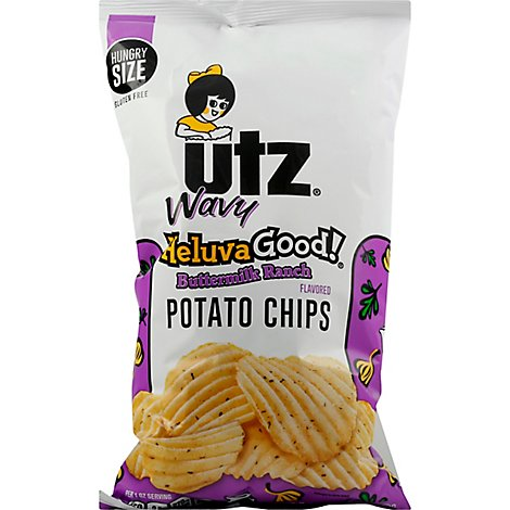 Utz Buttermilk Ranch Chips - 7.5 Oz