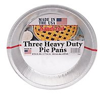 Handi Foil Pans Foil Heavy Duty Pie - 3 Count