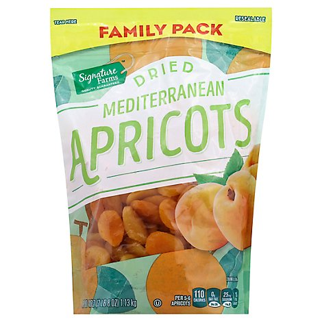 Signature Farms Apricots Dried Family Pack - 40 Oz