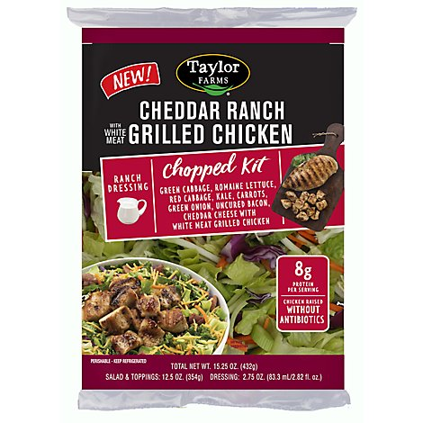 Tf Cheddar Bacon Chopped Salad W/Chicken - 15.25 Oz