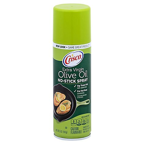 Crisco Cooking Spray No Stick Extra Virgin Olive Oil - 5 Oz
