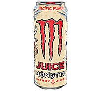 Monster Energy Juice Monster Energy + Juice Pacific Punch - 16 Oz