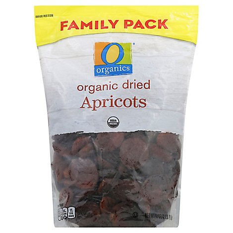 O Organics Apricots Dries Family Pack - 40 Oz