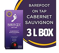 Barefoot Cellars On Tap Cabernet Sauvignon Red Box Wine - 3 Liter