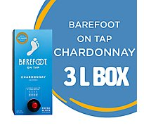 Barefoot Cellars On Tap Chardonnay White Box Wine - 3 Liter