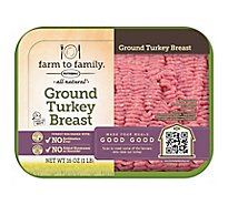 Butterball Turkey Ground Turkey Breast - 16 Oz