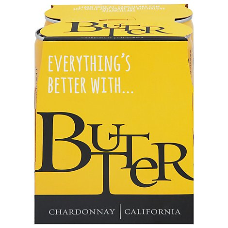 Jam Cellars Butter Chardonnay Cans Wine - 4-250 Ml