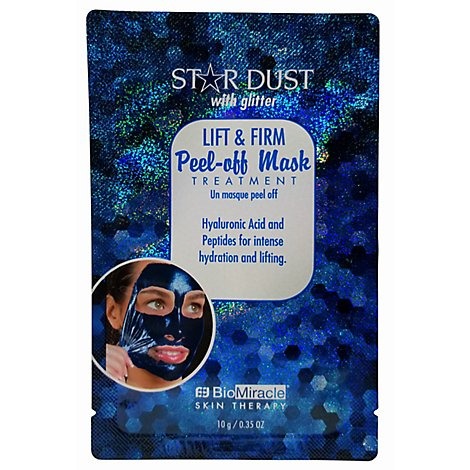 Star Dust With Glitter Lift& Firm Peel-Off - Each