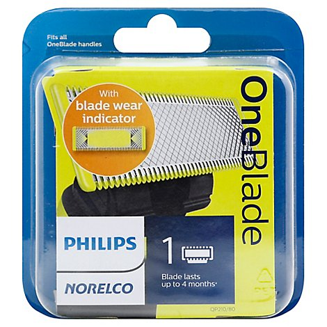 Philips Norelco OneBlade Replacement Blade QP210/80 - Each