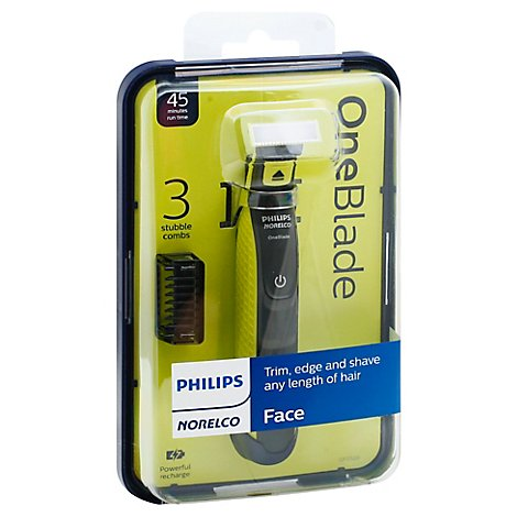 Philips Norelco OneBlade Face Grooming Kit 3 Stubble Combs QP252/70 - Each