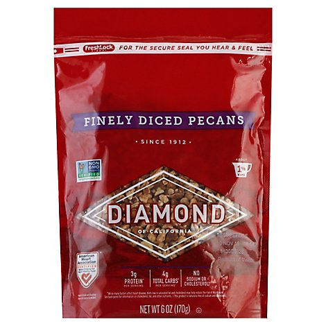 Diamond of California Pecans Finely Diced - 6 Oz