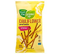 From The Ground Up Cauliflower Pretzel Sticks - 4.5 Oz