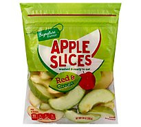 Signature Farms Apple Slices Red & Green - 14 Oz