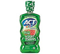 ACT Kids Rinse Fluoride Anticavity Wild Watermelon - 16.9 Fl. Oz.