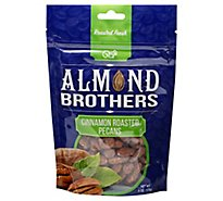 Almond Brothers Cinnamon Roasted Pecans - 6 Oz