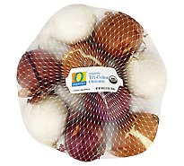 O Organics Onion Tri Color - 3 Lb