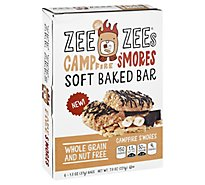 Zee Zees Soft Baked Bars Campfire Smores - 6-1.3 Oz
