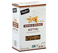 Signature SELECT Pasta Whole Wheat Rotini - 16 Oz