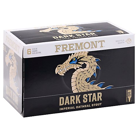 Fremont Dark Star Imperial Oatmeal Stout In Cans - 6-12 Fl. Oz.