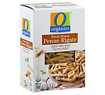 O Organics Pasta Penne Rigate Whole Wheat - 16 Oz