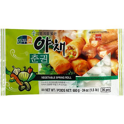 Wang Spring Roll Vegetable - 24 Oz