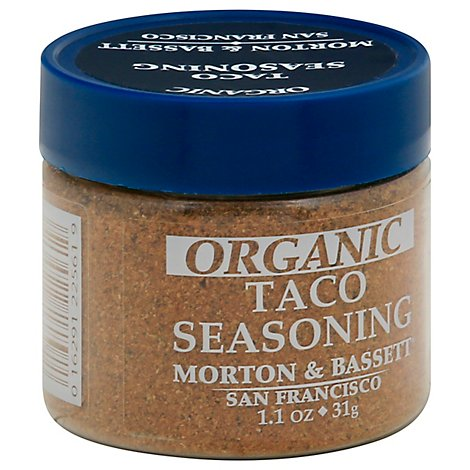 Morton & Seasoning Taco Organic - 1.1 Oz
