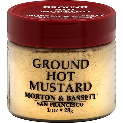 Morton & Seasoning Mustard Grd Hot - 1 Oz