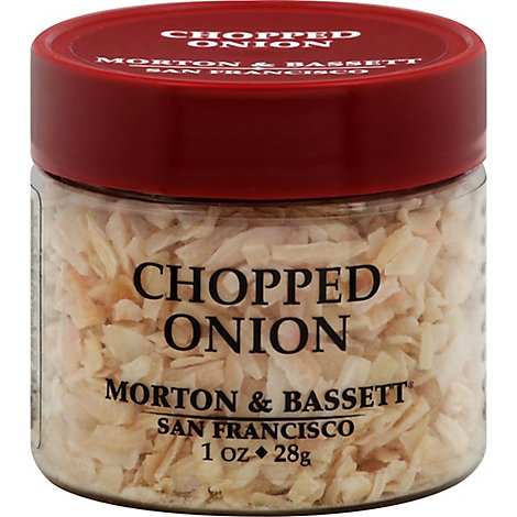 Morton & Seasoning Onion Chopped - 1 Oz