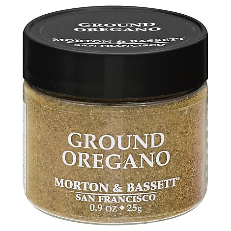 Morton & Seasoning Oregano Ground - 0.9 Oz
